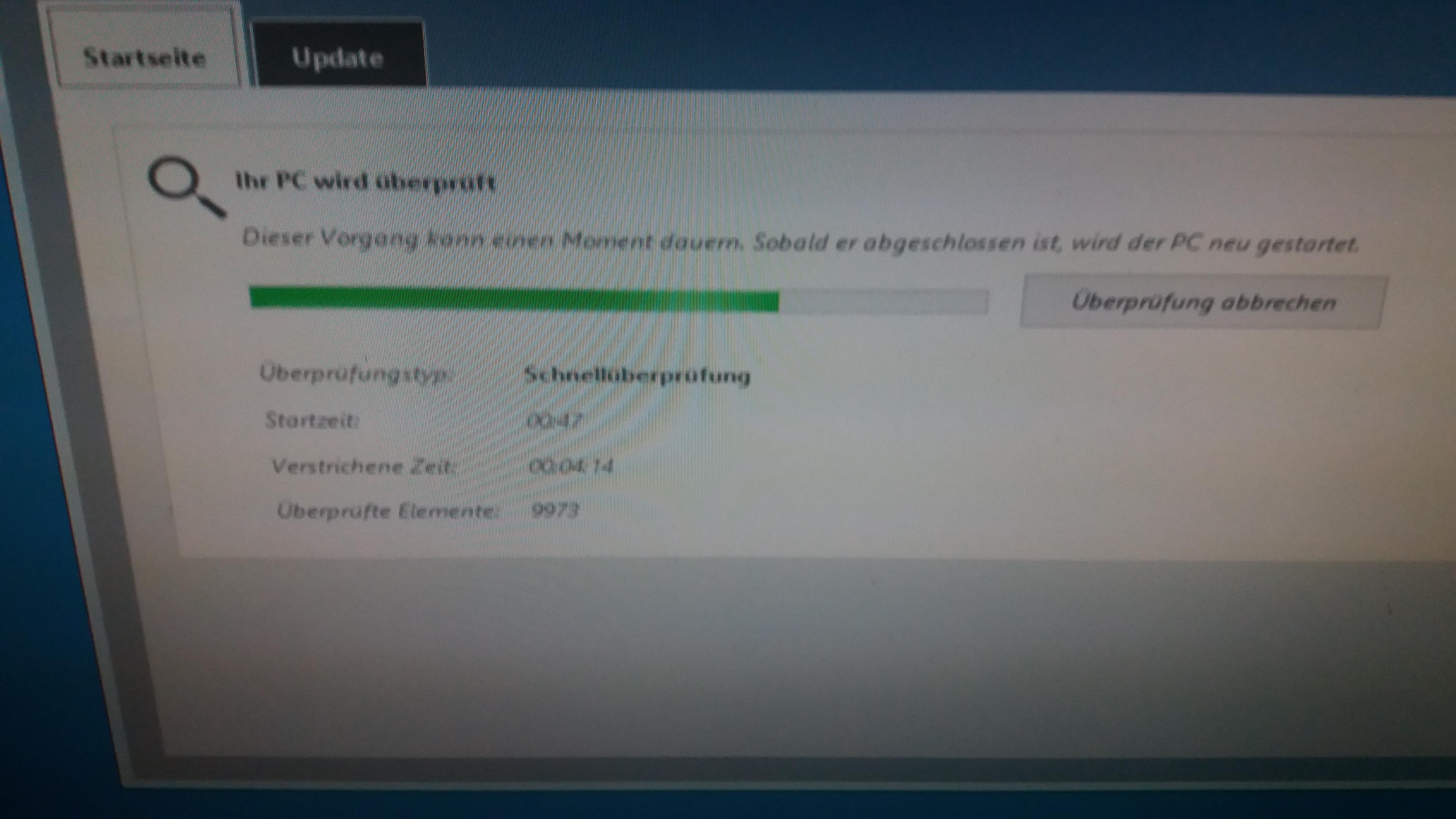 Windows Defender Offline-Modus