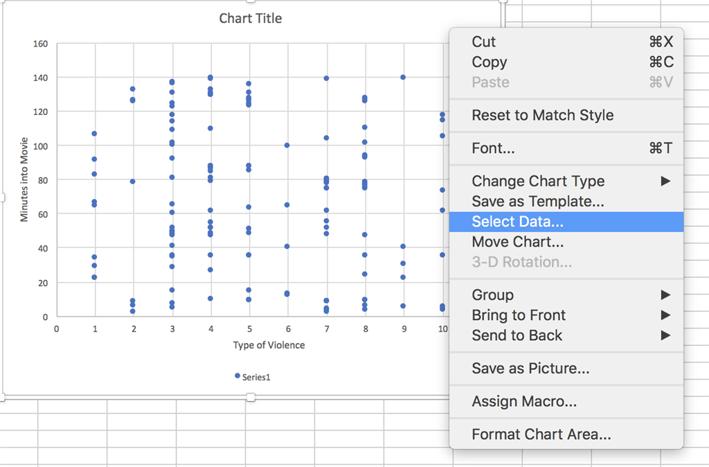 Changing Axis Labels in Excel 2016 for Mac - Microsoft Community