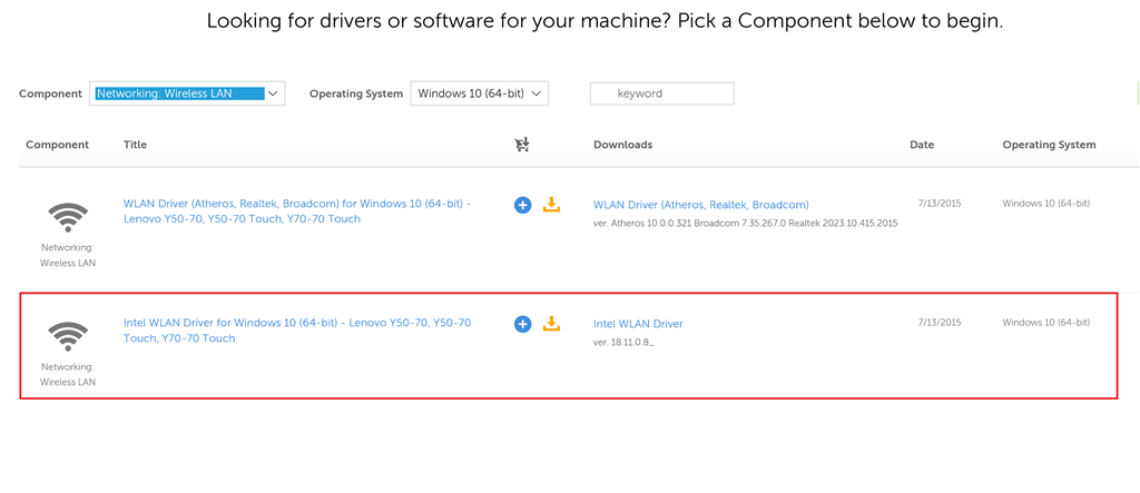 broadcom 802.11 ac driver windows 10