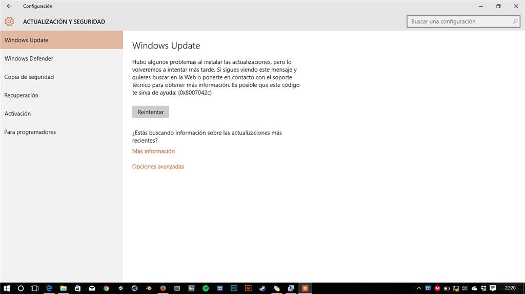 Diversos Problemas En Windows 10 Microsoft Community