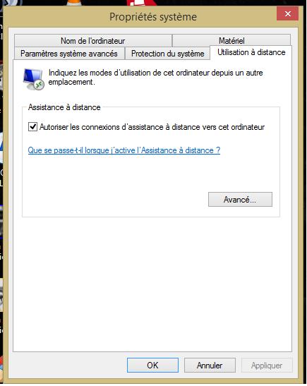 Impossible d 39 activer le bureau distance sous windows 8 1 microsoft community - Activer bureau a distance windows 8 ...