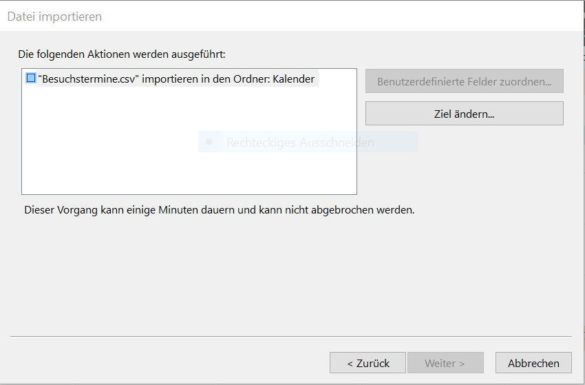 Import von Excel-Daten in Outlook 2016-Kalender - Microsoft Community