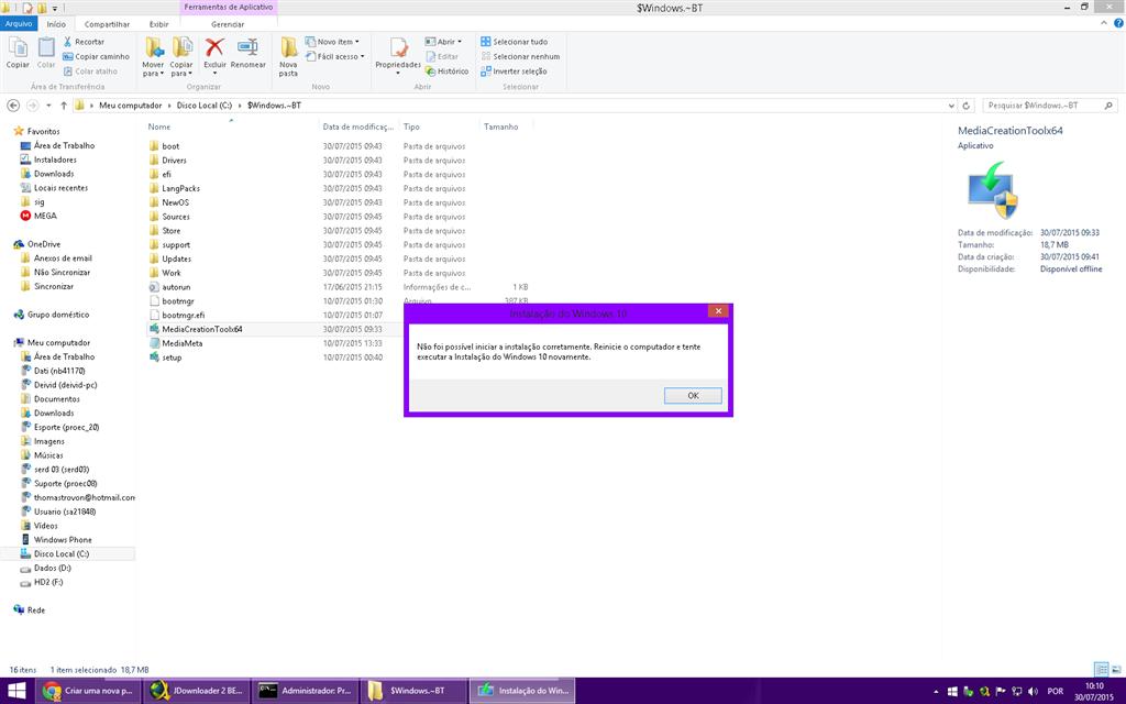 Introduction à Media Creation Tool. Windows 10 Media Creation Tool peut être utilisé sur n'importe quelle version de Windows (Windows 7, Windows 8.1) pour mettre ...