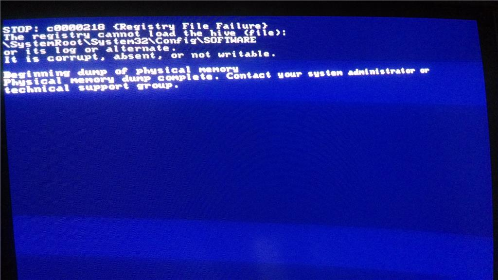 what can cause computer blue screen
