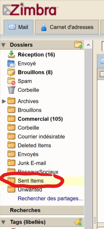 Configuring IMAP sent folders in Windows 10 mail app - Microsoft
