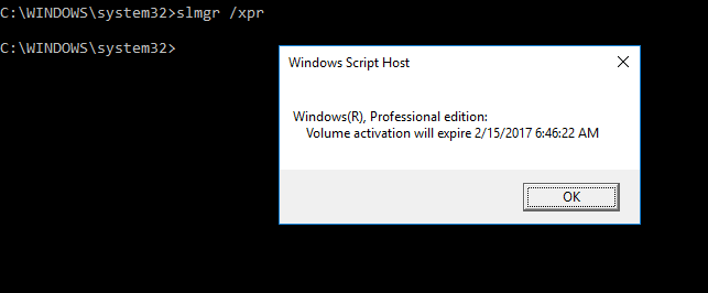Windows 10 pro activation expire date your windows will expire 1i tried checking the expiry date and this is what it posts image ccuart Images