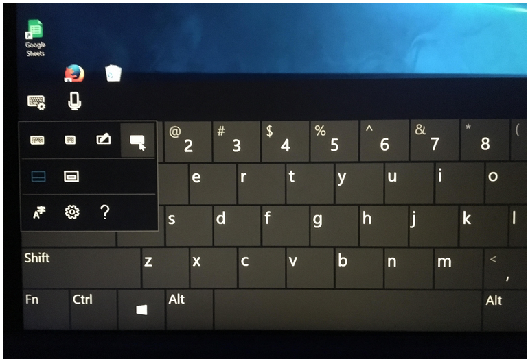 the windows 10 touch keyboard is not using the standard keyboard microsoft community. Black Bedroom Furniture Sets. Home Design Ideas