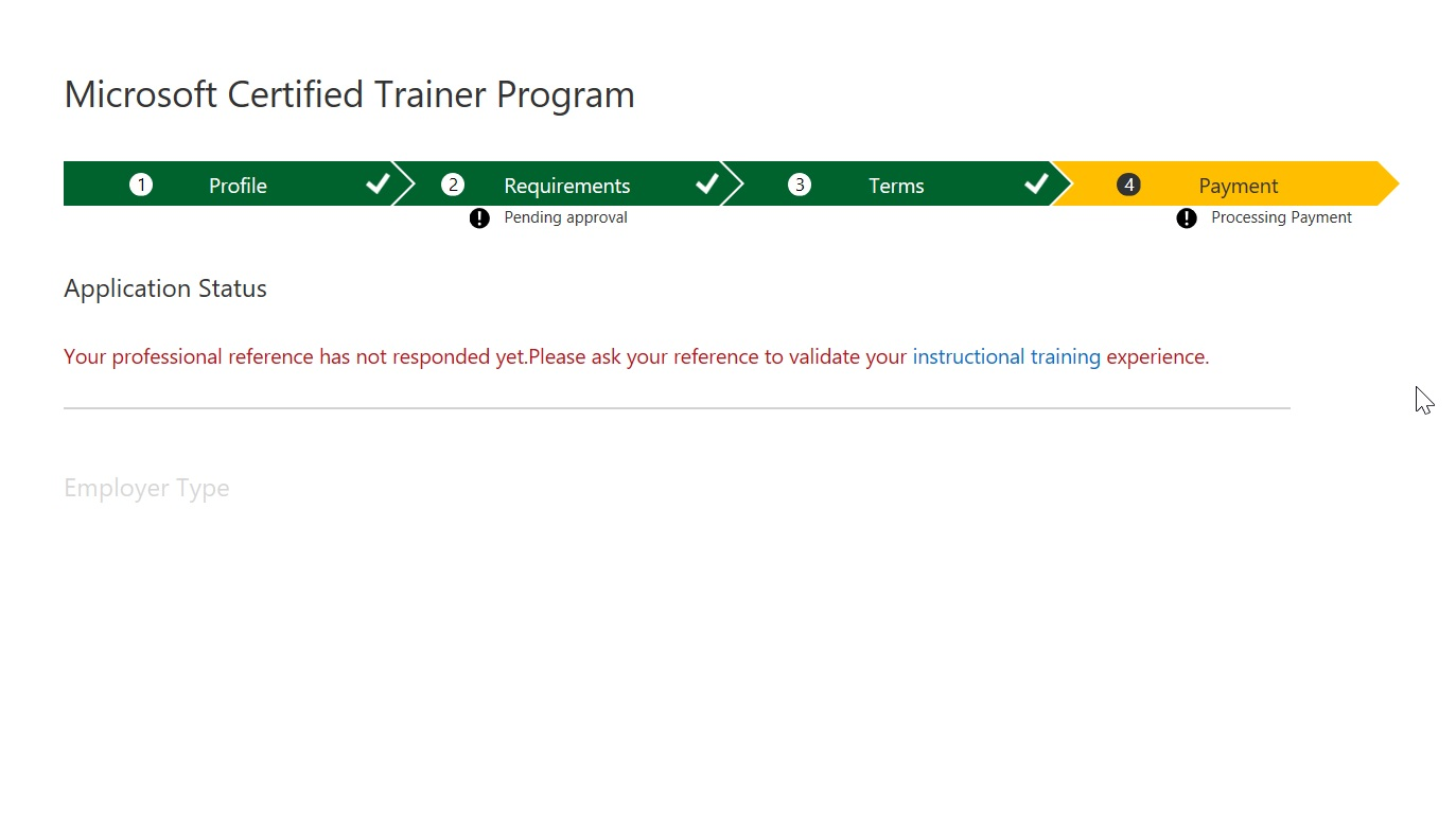 Mct verification email verified did not receive training mct process is not sending email to professional reference and its saying that we are waiting for professional reference to respond can you provide me 1betcityfo Images