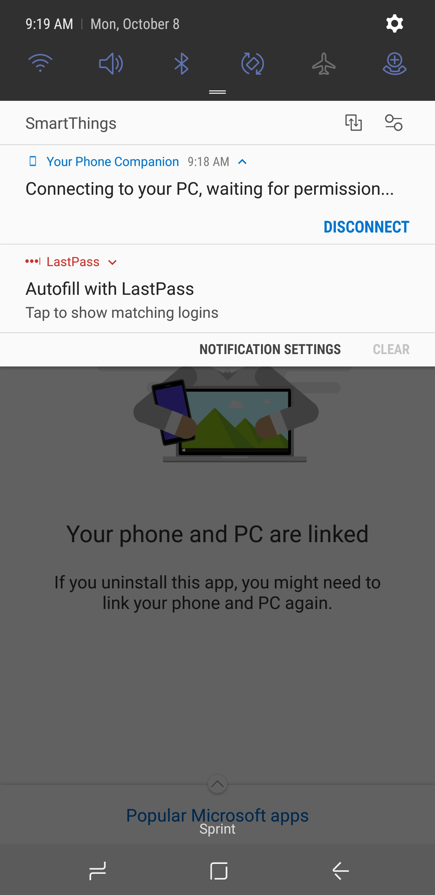 Your Phone app doesn't work - Microsoft Community