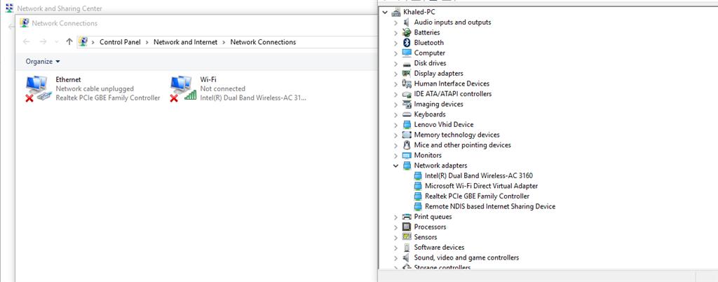 Windows 10 Network Adapters Not Working - Microsoft Community