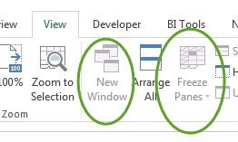 protect structure and windows excel 2016