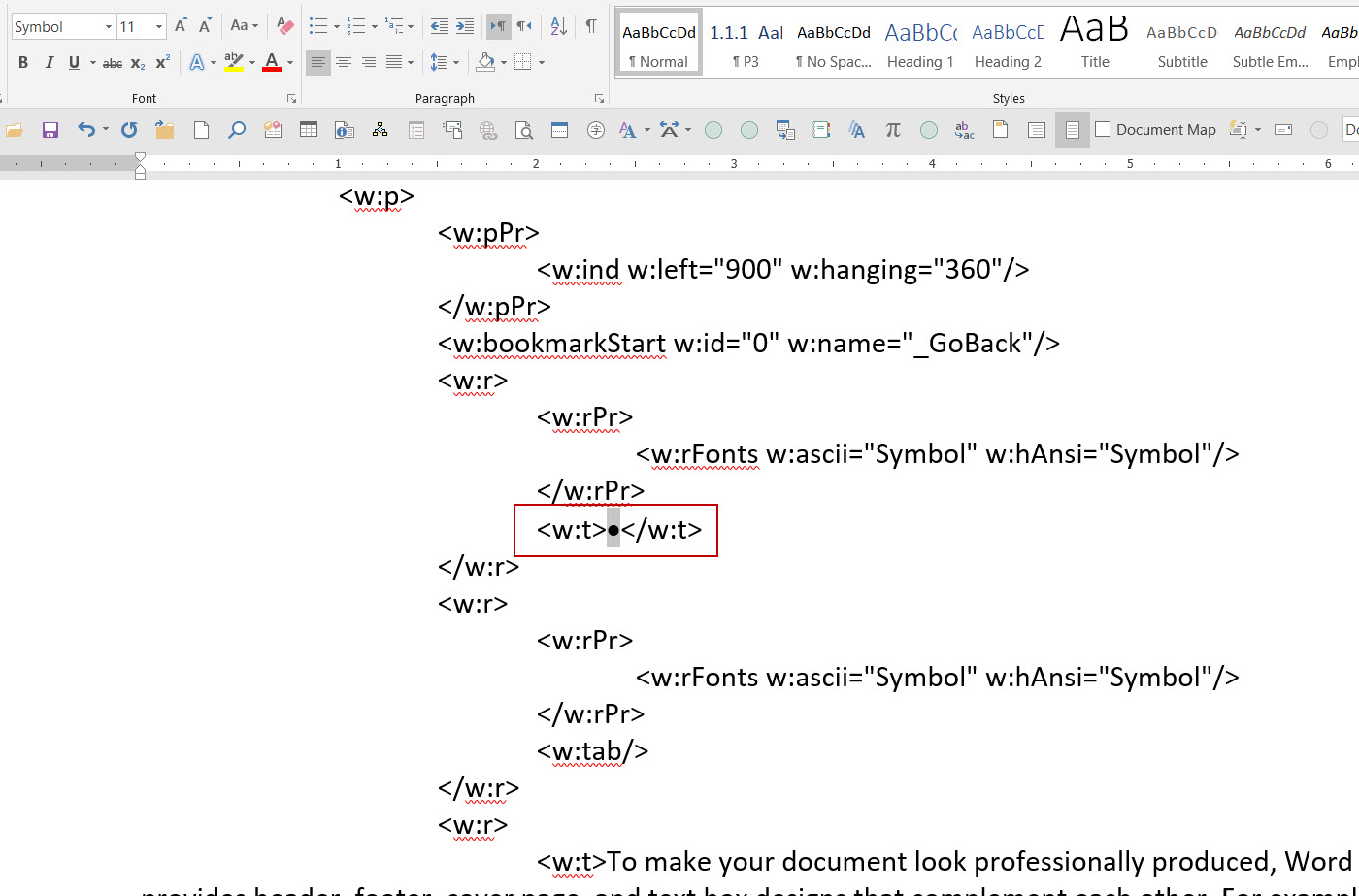 Microsof Word Lists Are Not Converting To Text Correctly In Vba