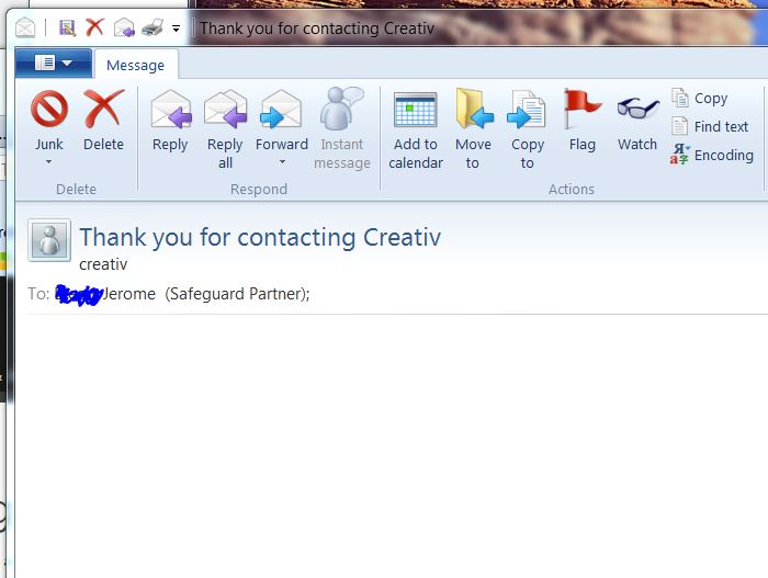 Windows Live Mail Won't Display Content Of Some Emails