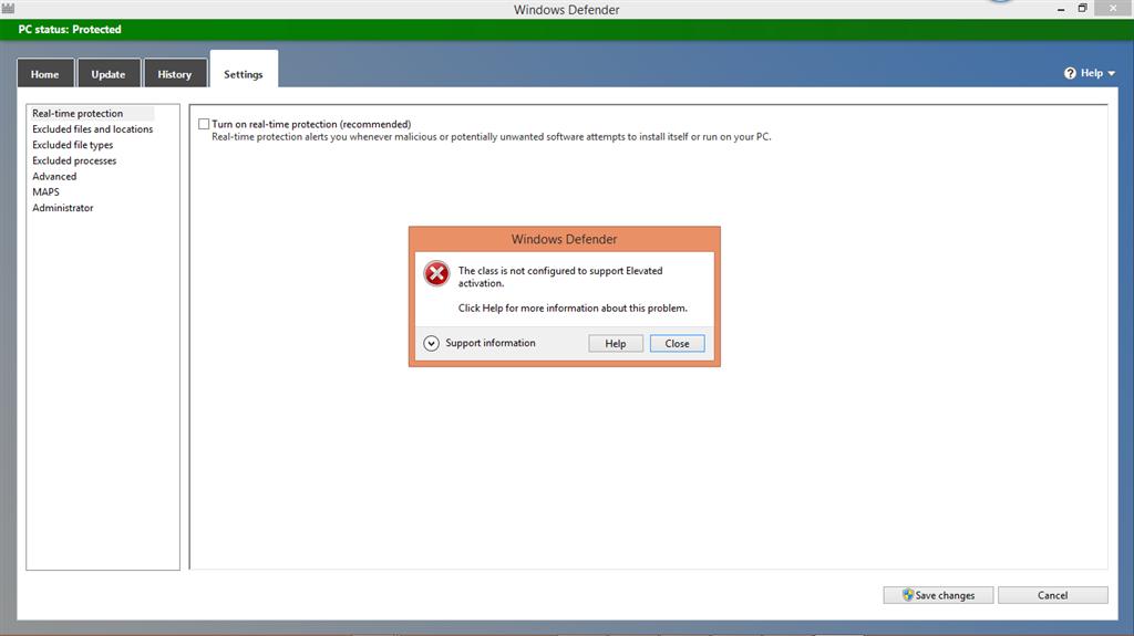 I can\u0027t turn off windows defender!!! - Microsoft Community