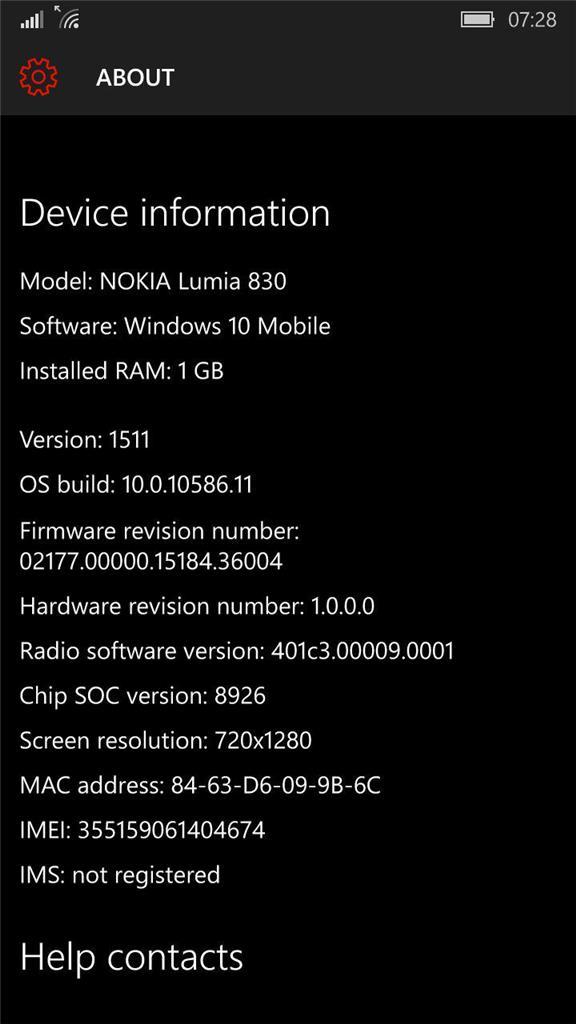 Lumia 830 Camera Not Working After a Update - Microsoft Community