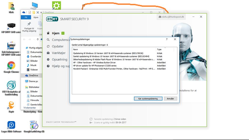 Windows opdatering er gået i stå - Microsoft Community