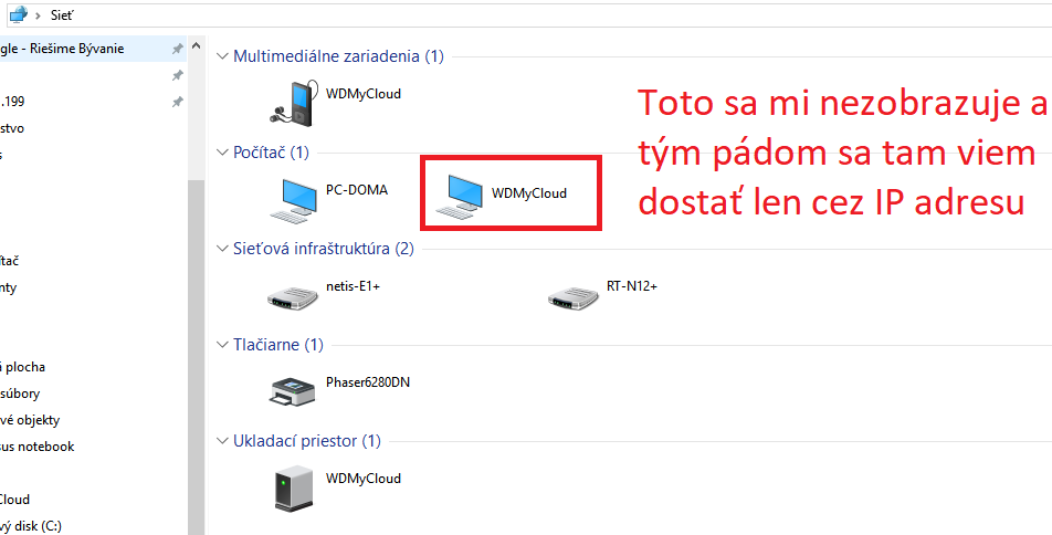 File manager pre WD My Cloud EX2 Ultra