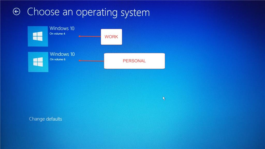 Dual-Boot Two Copies of Windows 10 on Same SSD - Microsoft