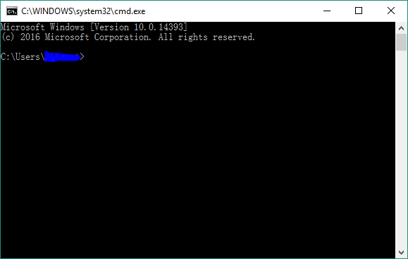 Command prompt font messed up after Anniversary Update - Microsoft