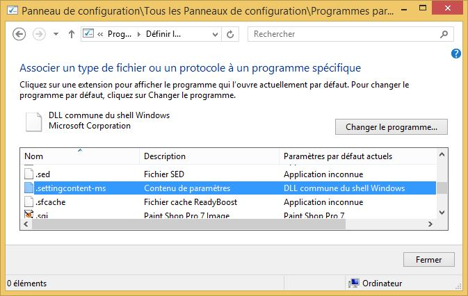 dll commune du shell windows