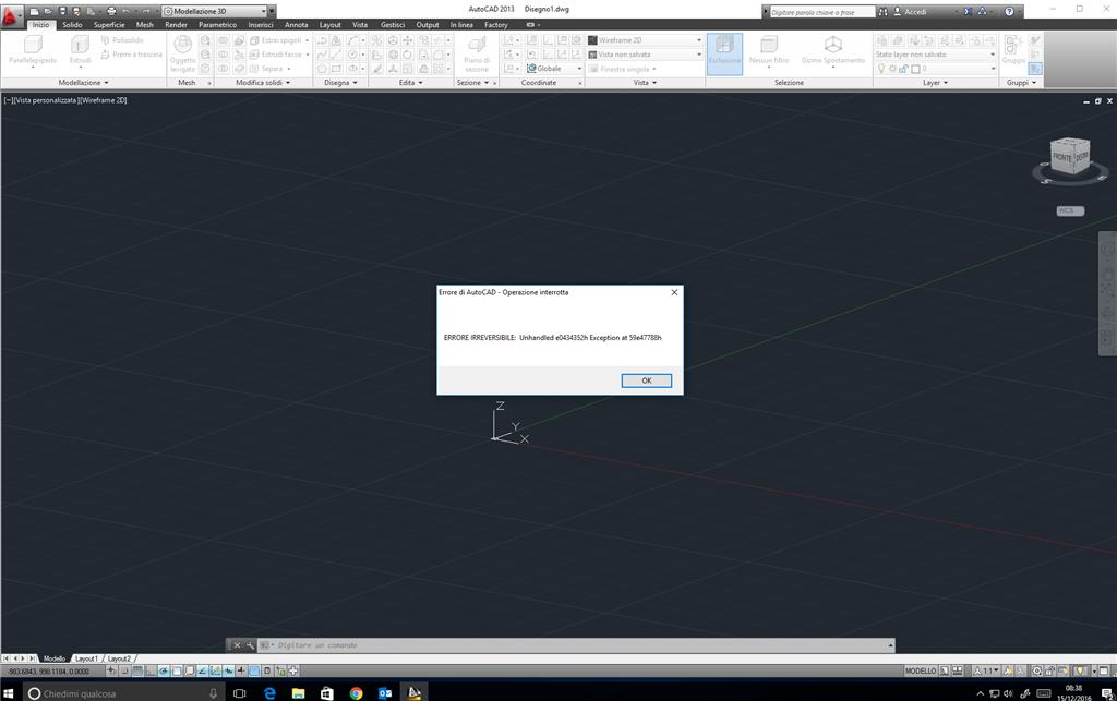 Errore installazione inventor e autocad - Microsoft Community