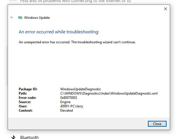 Windows Cumulative Update Problems - Microsoft Community