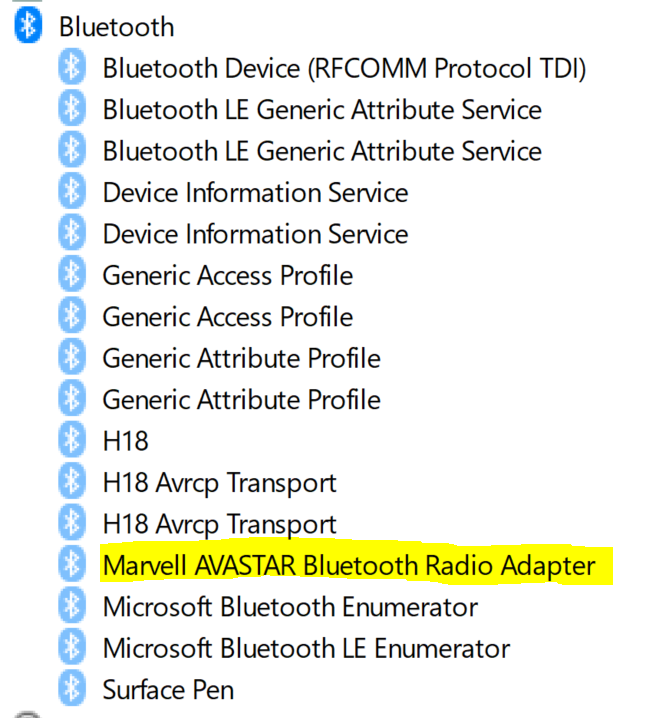 Bluetooth icon (& driver?) missing - Microsoft Community