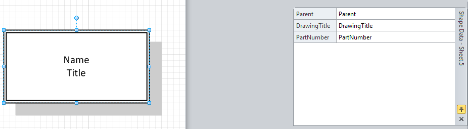 Visio: Change shape data in a default template (like - Microsoft ...