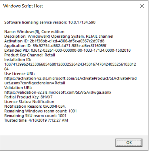 cant activate windows 10 after upgrade