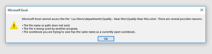 Cannot open macro enabled files in Excel - Microsoft Community
