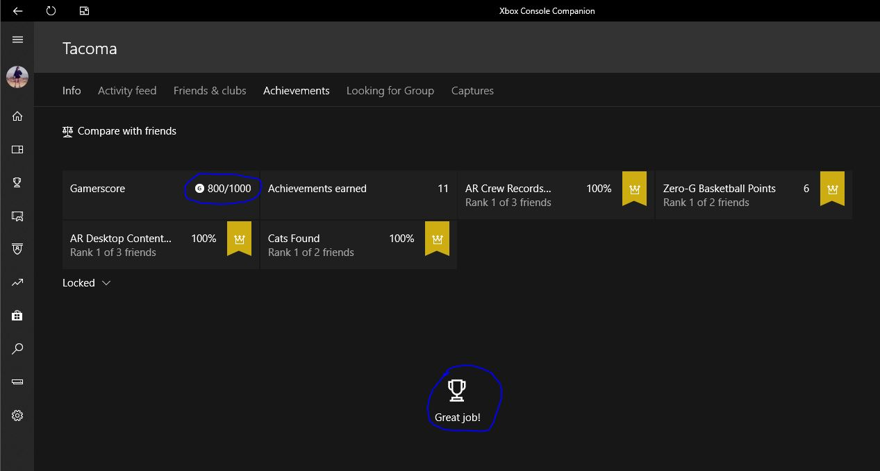 No locked achievements, but GS somehow is 800/1000 [IMG]