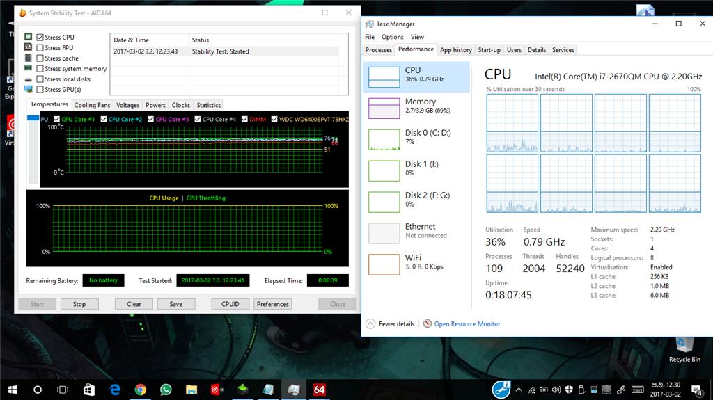 CPU not running in full speed in Windows 10 - Microsoft Community