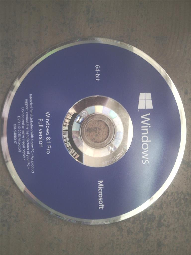 installing windows 8.1 from dvd