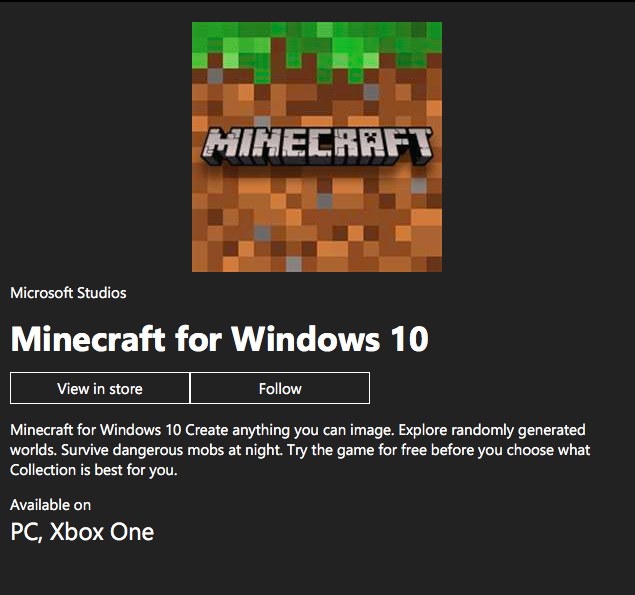 Buying Minecraft [​IMG]