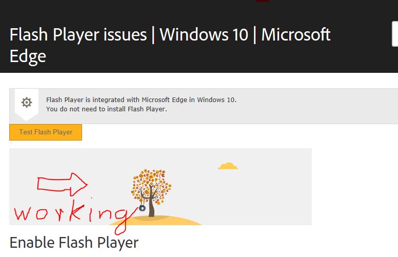 Flash Player in Microsoft Edge - Microsoft Community