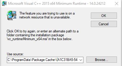 microsoft visual c++ 2015 runtime 64 bit download windows 10