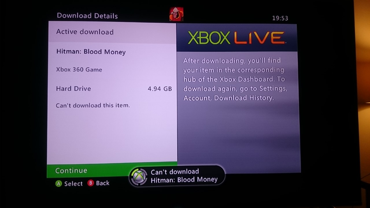 Xbox 360 Games With Gold always download corrupt - Microsoft Community