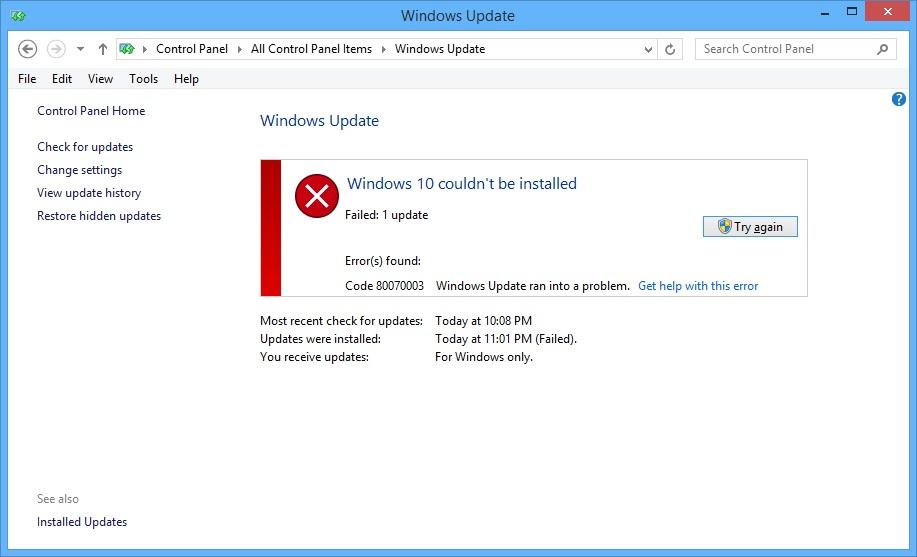 8.1 pro upgrade to windows 10