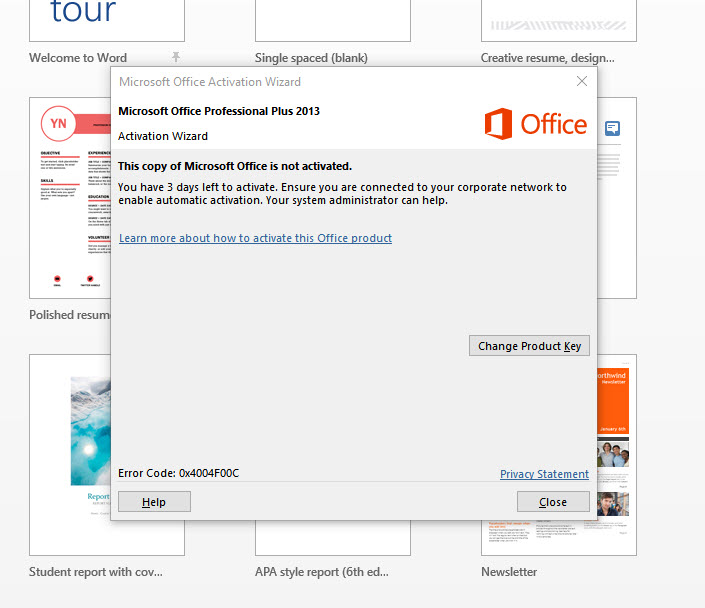 Two Office 2013 variants installed -- unable to uninstall