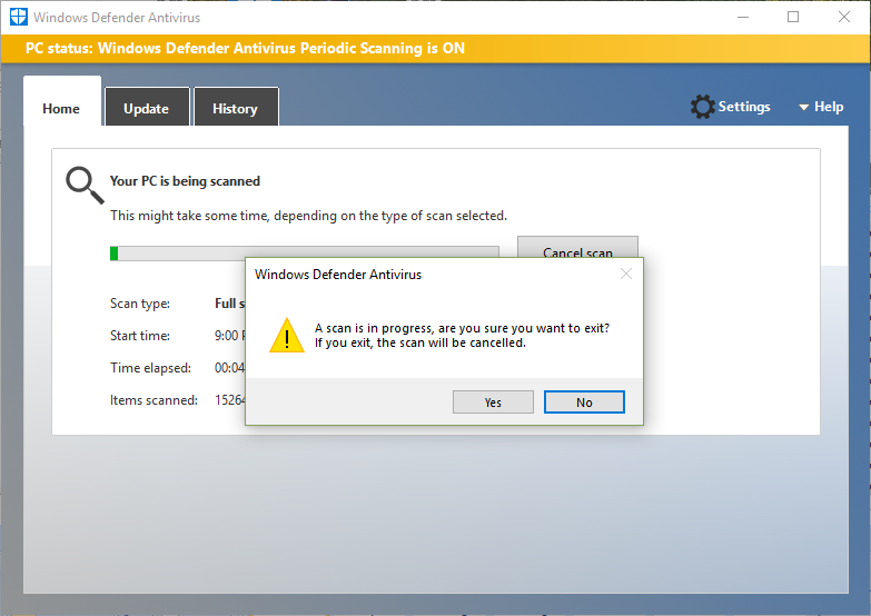 windows defender - Microsoft Community
