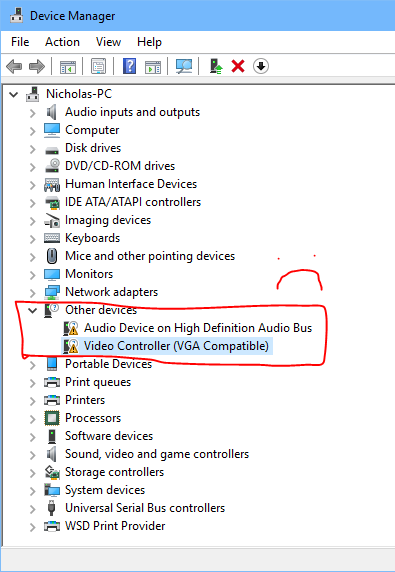 Windows 10) GT 710 is not listed under Display Adapters in