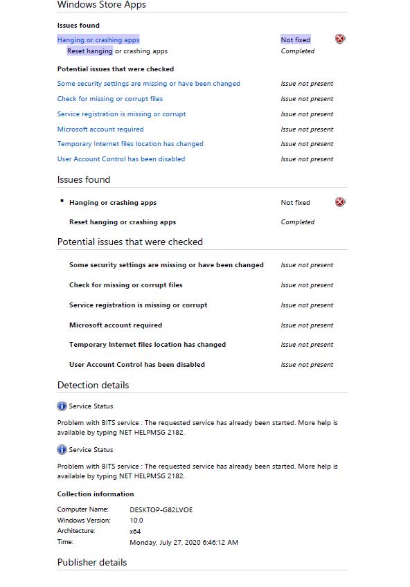 How To Resolve Error Code 0x80070005 In Microsoft Store Microsoft Community