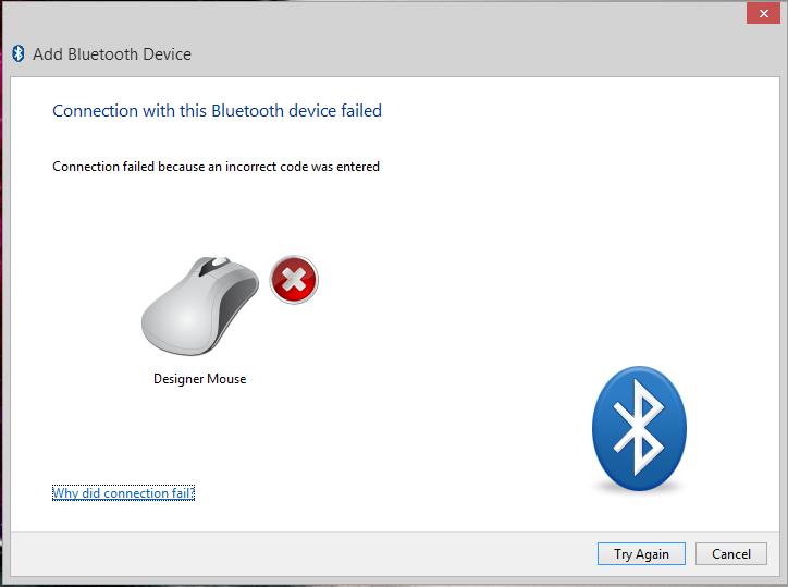 Microsoft Designer Mouse Requires Bluetooth Paring Code - Microsoft