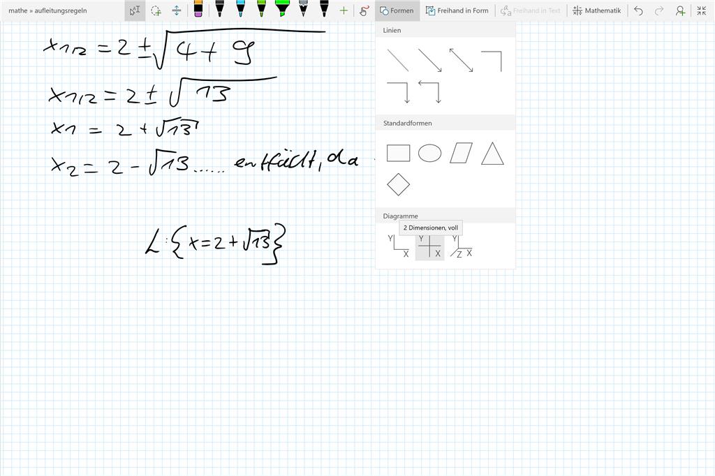 Fantastisch Was Bei Diagramm In Mathe Ideen - Mathematik & Geometrie ...