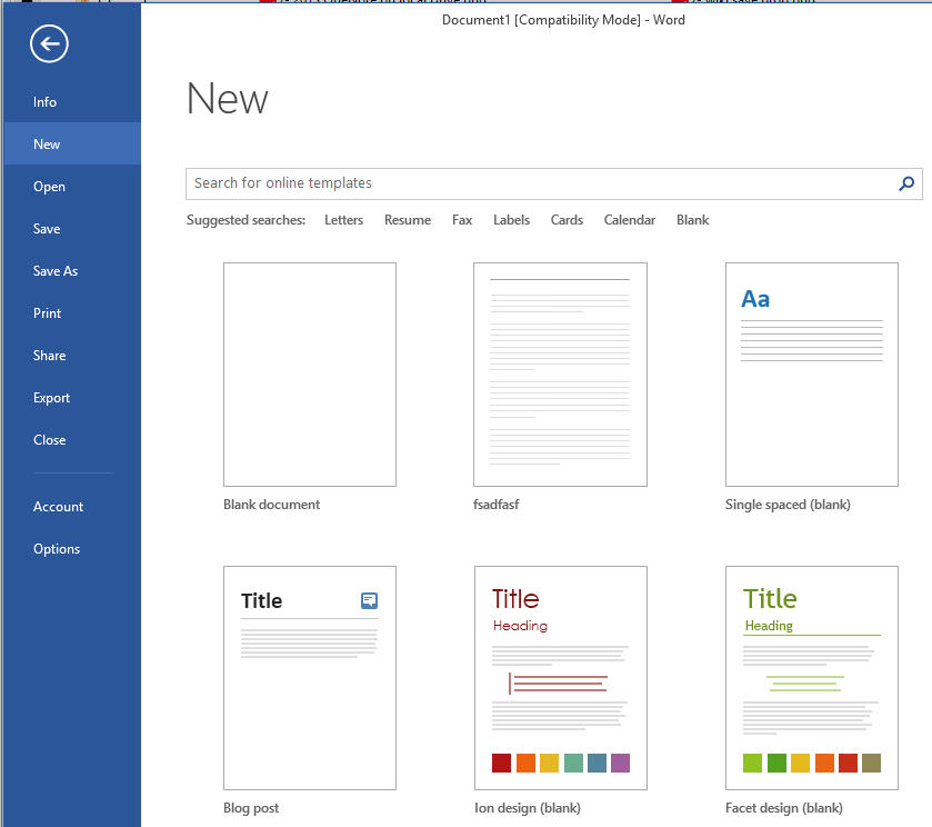 word 2013 templates featured vs personal vs microsoft community