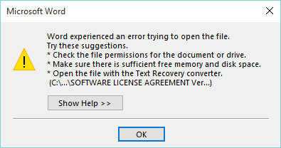 microsoft office 2007 word not opening