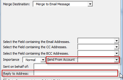 Mail Merge with Multiple Email accounts - Microsoft Community