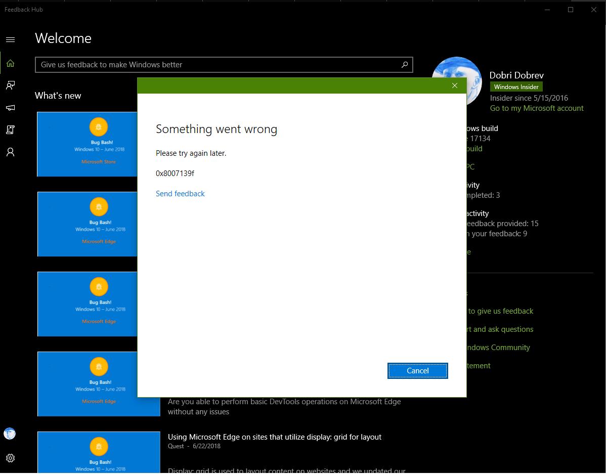 How to fix windows mail app error code 0x8007139f?