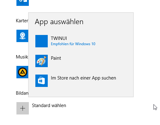 Viewing Pictures in Explorer with Windows 10 with TWINUI default app