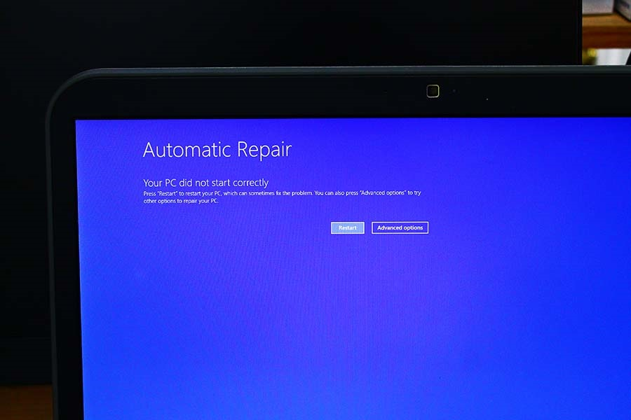 Windows 10 - automatic repair - Your pc did not start correctly only -  Microsoft Community